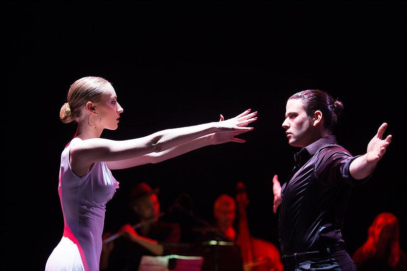 танго , социальная хореография