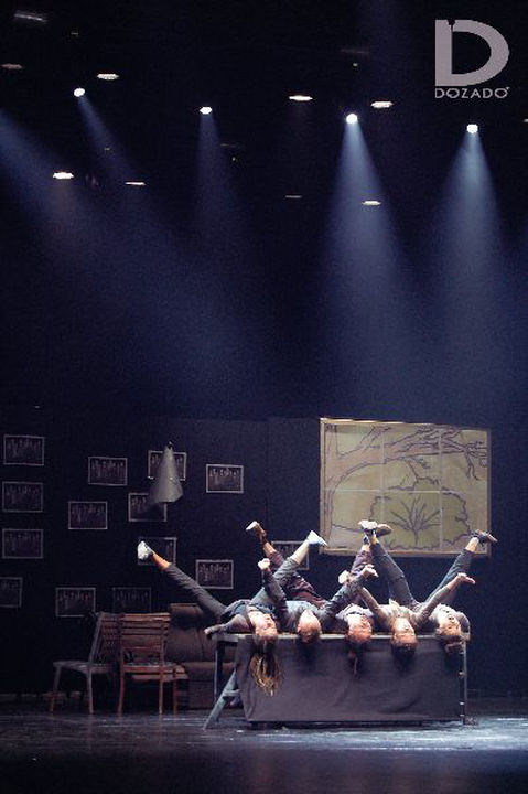 Чердак Джека Изнанка экспериментальный танец urban dance