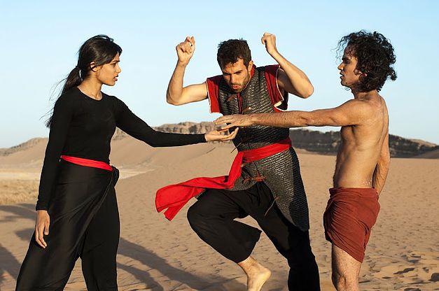 Афшин Гаффариан , Танцующий в пустыне, фильм о танцах