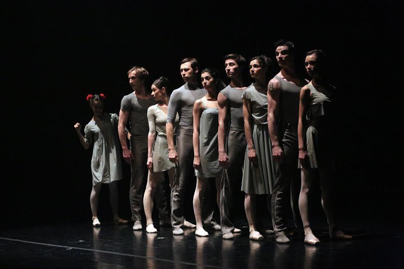 Точка пересечения, музыкальный театр, «Шел трамвай 10-ый номер…» (хореограф Марианна Рыжкина)