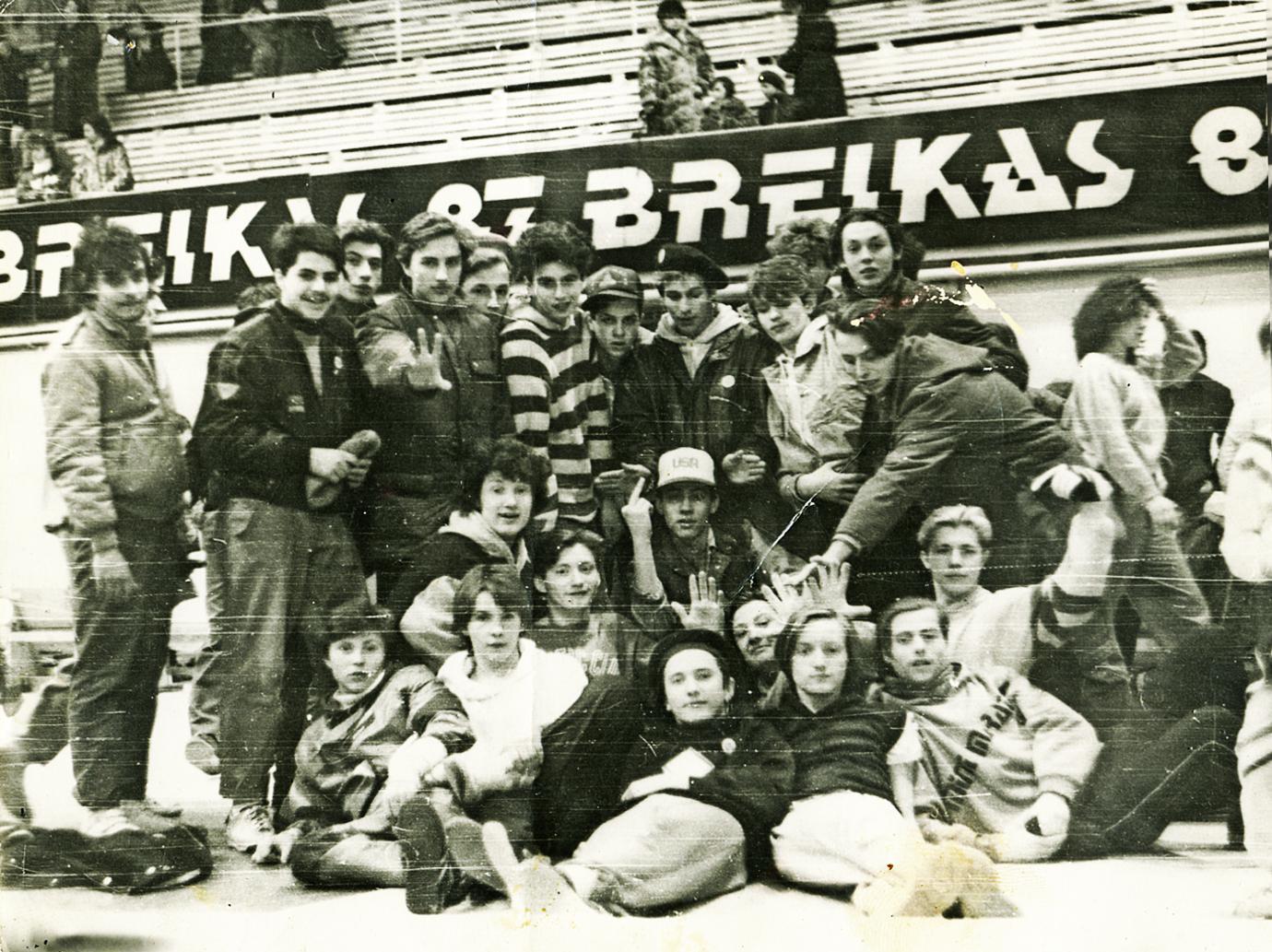 История брейка, фото из личного архива Николая Андреева, dozado