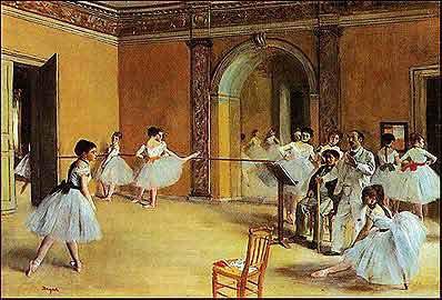 Танцевальный класс - Эдгар Дега