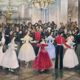 «Бал у княгини Барятинской»: что танцуют на картине?