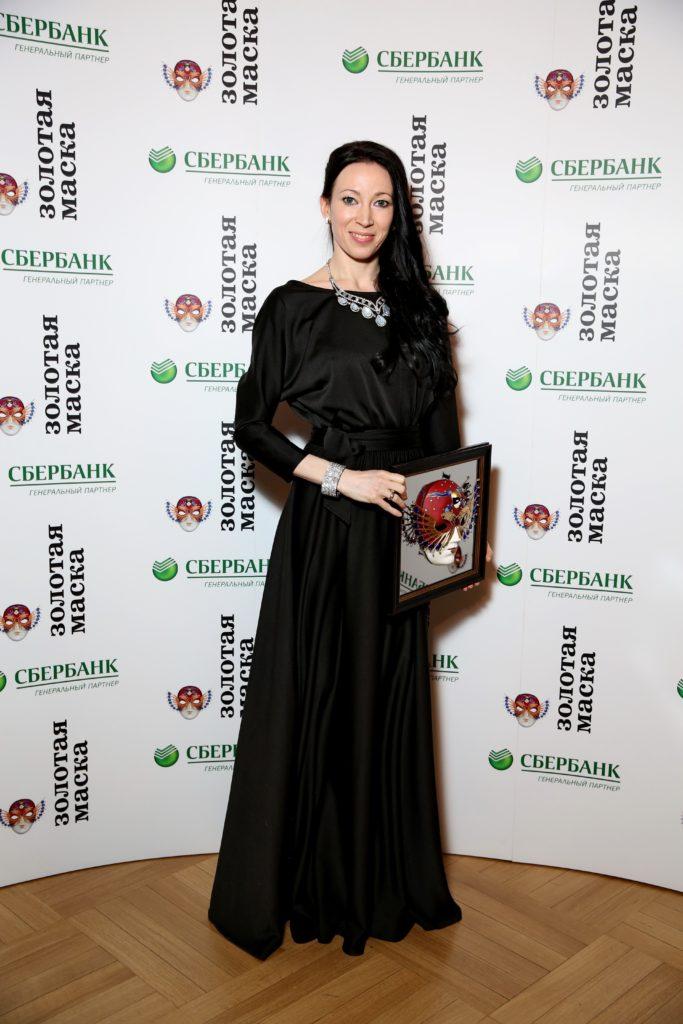 Виктория Терешкина, золотая маска, лауреат, балет, dozado