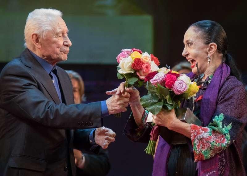 Юрия Григорович и Марсия Хайде, Бенуа де ла данс