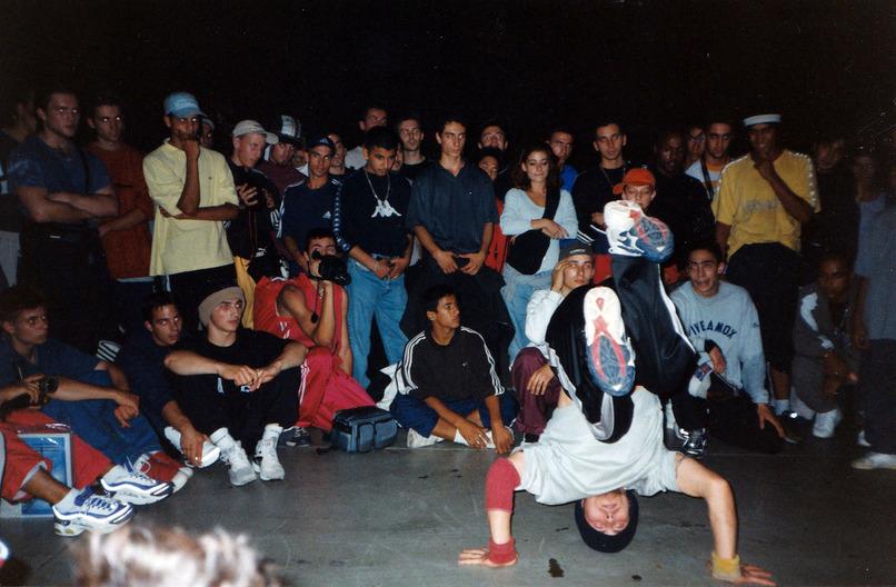 Топор/Da Boogie Crew в «кругах» на BOTY 1999