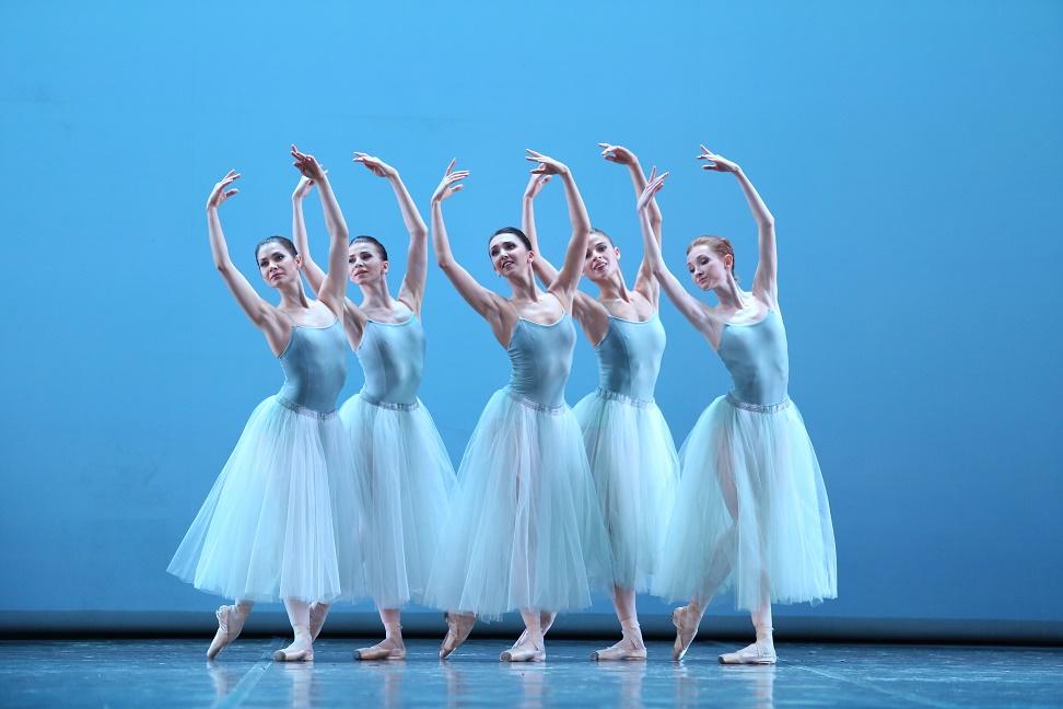 Баланчин, серенада, балет, мамт