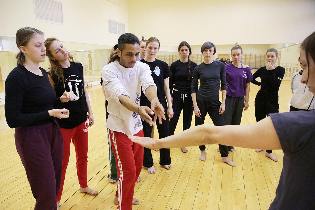 Нарендра Патил, танцевальный мастер класс, flying low